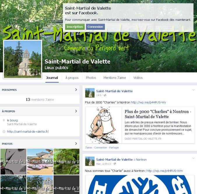 saint-martial sur facebook