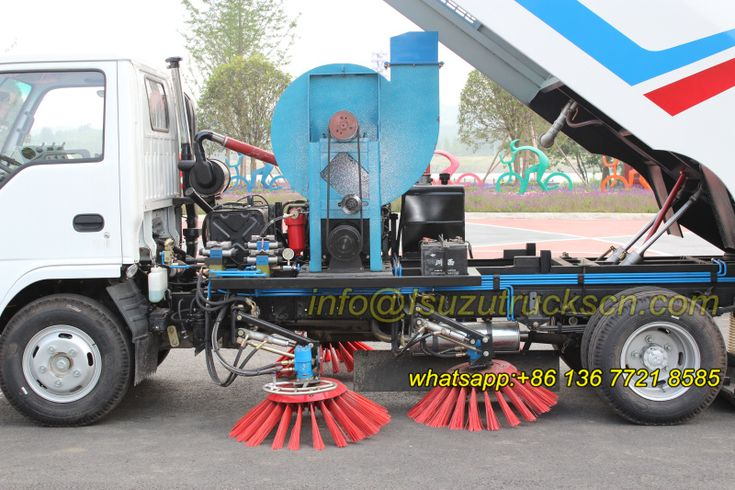 Road Sweeper Truck Isuzu simple structure