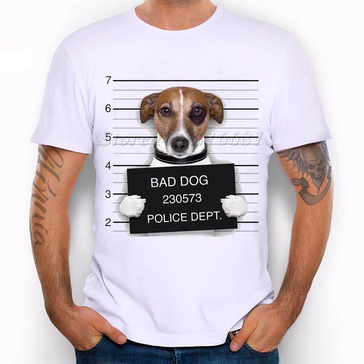 bad dog criminal t-shirt