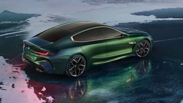 BMW Concept M8 Gran Coupe debuts in Geneva   Share  Facebook  Tweet  Pinterest  Email     The new BMW 8-Series isnt even out yet but the automaker used the Geneva auto show to take the wraps off a four-door performance sedan concept version that it is calling the BMW Concept M8 Gran Coupe. Its best to think of this concept as a preview to an inevitable four-door 8-Series. Following the lead of the 6-Series Gran Coupe (which is actually quite nice) this concept is much like a7-Series.  The…