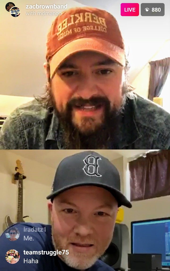 Pin By J Autumn Nangle On Zac Brown Band In 2020 Zac Brown Band Brown Band Baseball Hats