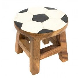 Stunning football inspired childrenu0027s wooden stool. Hand carved and painted its priced at just £  sc 1 st  Pinterest & 52 best Childrenu0027s Furniture images on Pinterest | Hand painted ... islam-shia.org