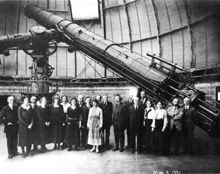 Refracting telescope - Yerkes Observatory