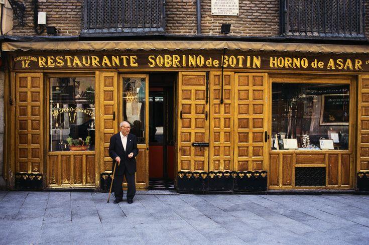 Sobrino de Botín, el restaurante más antiguo del mundo, de Madrid al Cielo