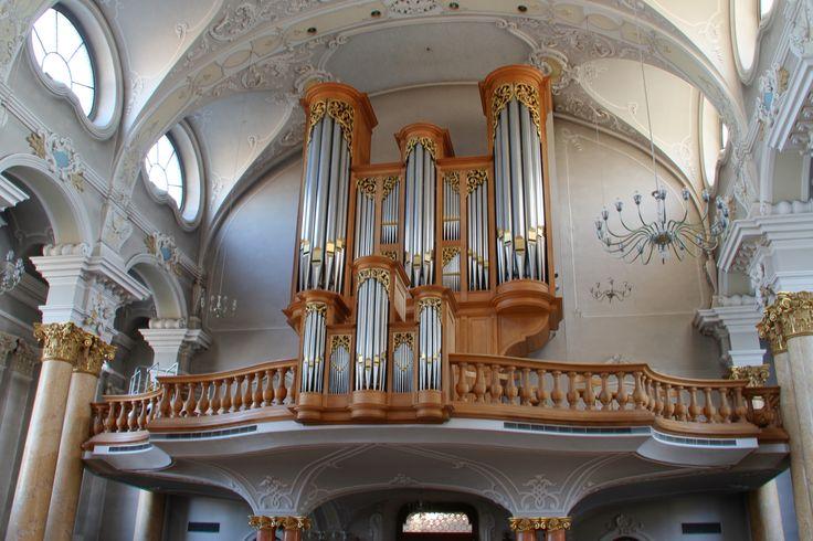 1988 Metzler organ Opus 555 in St. Nikolaus Church, Frauenfeld