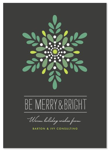 Cool business holiday card ideas print holidays2014