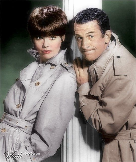 Get Smart (1968). Barbara Feldon as Agent 99 and Don Adams Maxwell Smart as Agent 86