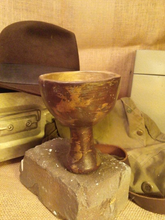 Indiana Jones Holy Grail by PhilDaleyProductions on Etsy, $65.00