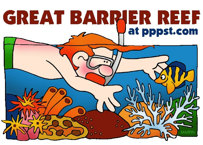 Australia - The Great Barrier Reef for Kids - FREE Presentations in PowerPoint format, Free Interactives and Games