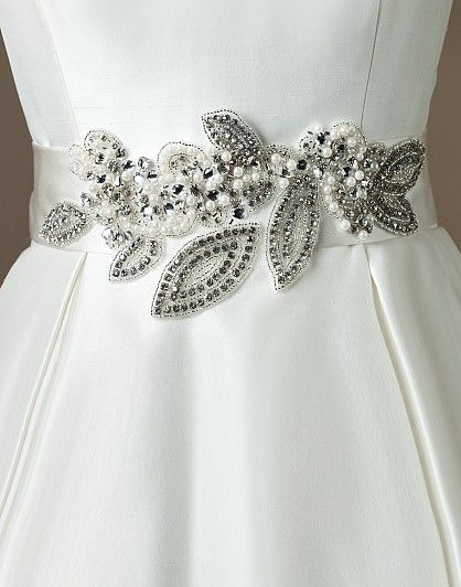 Justin alexander wedding accessories style a003 wedding for Wedding dress accessories belt