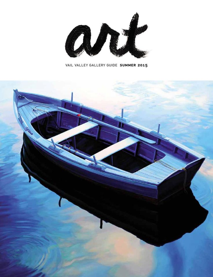 ART  The summer 2015 edition. This magazine is a collection of photo-intensive stories about features artists in the Vail Valley's finest galleries, as well as brief overviews of each gallery. A product of the Vail Daily.