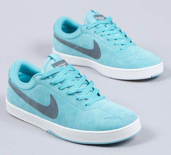 Nike SB Koston 1  Paradise Aqua/Slate Blue - his favorite color