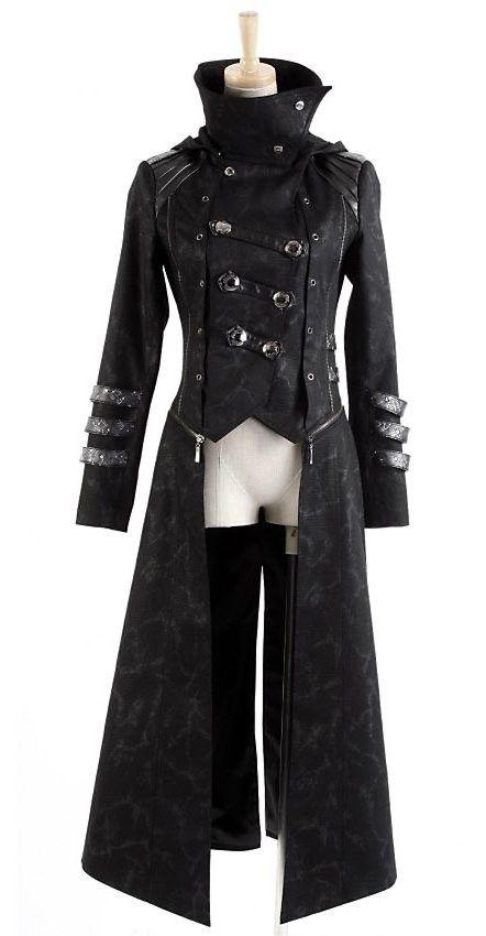 Zip Coat #military #steampunk