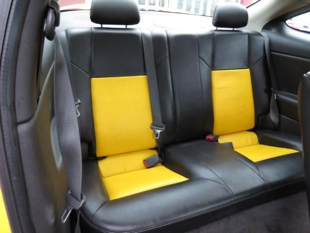 2007 Chevrolet Cobalt SS Supercharged, yellow and black interior two tone