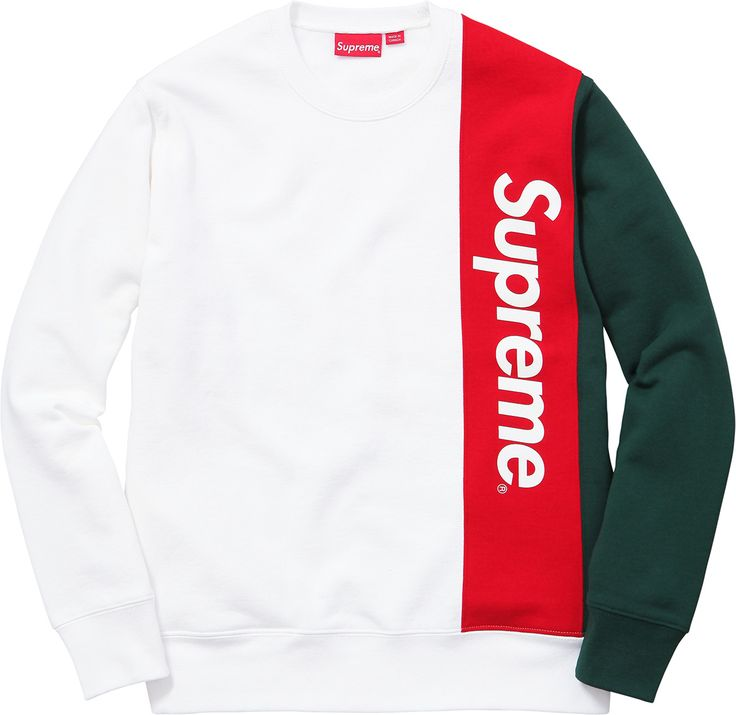 Supreme Panelled Crewneck Spring/Summer 2016