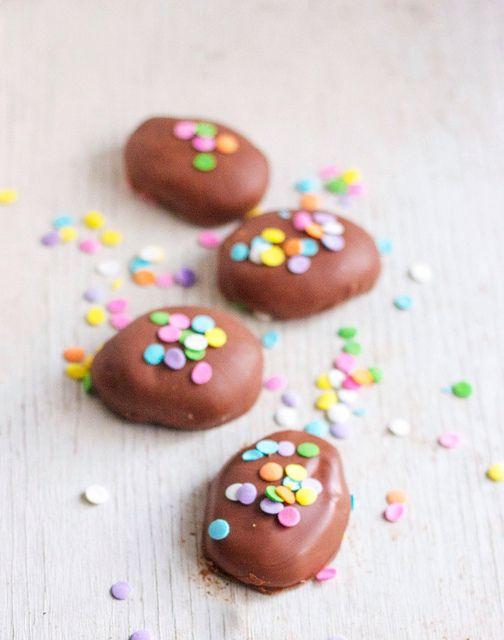 Homemade Reeses Peanut Butter Eggs by kellybakes, via Flickr