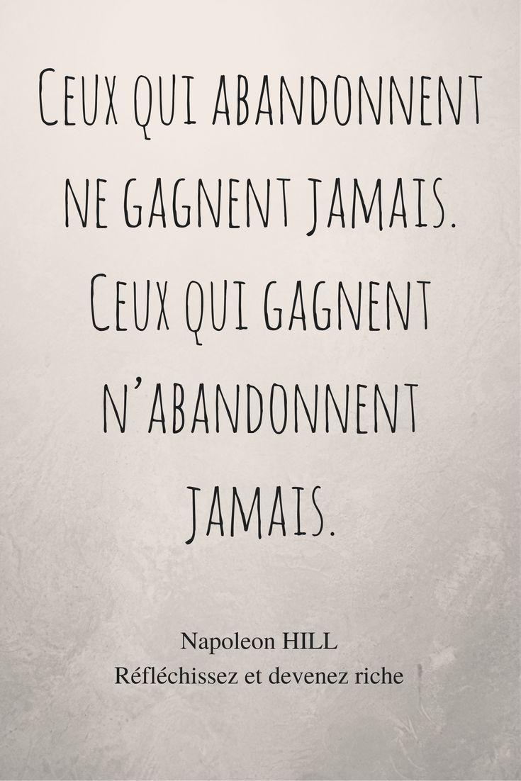 Réfléchissez et devenez riche ! Napoleon HILL