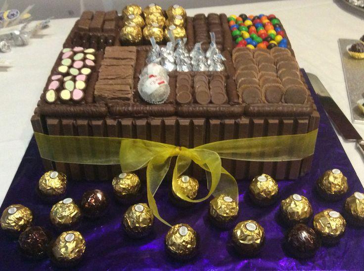 Rowan's 21st Chocolate Box Cake.