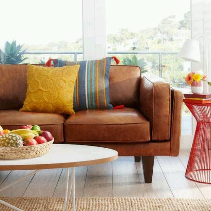 Http://www.freedom.com.au/furniture/sofas/. Tan Leather ...