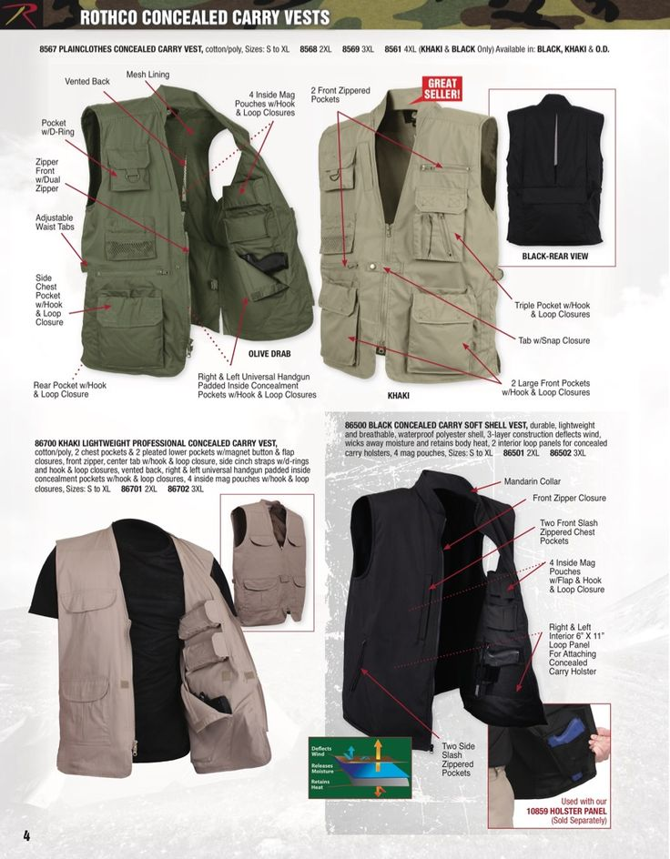 15 best Rothco Concealed Carry Clothing images on Pinterest ...