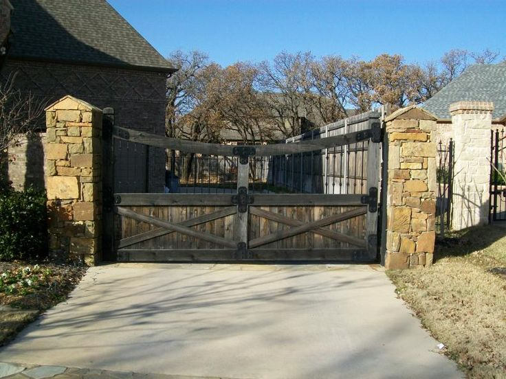 82 best Gates and Fences images on Pinterest | Garden fences ... Fence And Gates Home Designs Ta E A on