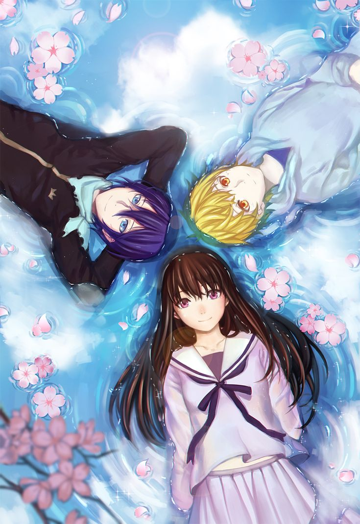 Noragami ~~ Our Trio take a few moments to simply rest. Finally.