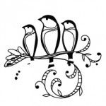 tattoo passarinhos
