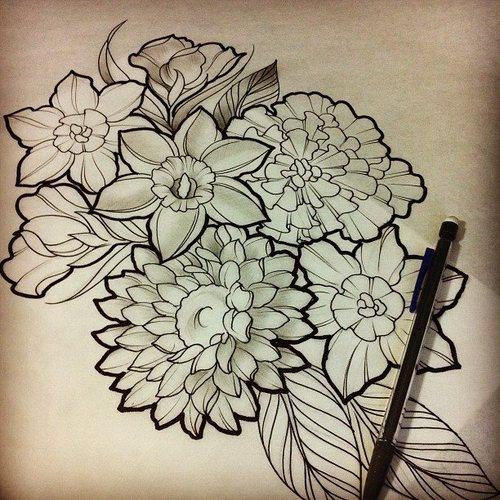 Tattoos on Pinterest | Rose Tattoos, Lotus Flower Tattoos and ...