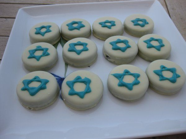 star of david oreo cookies for Israel's independence day