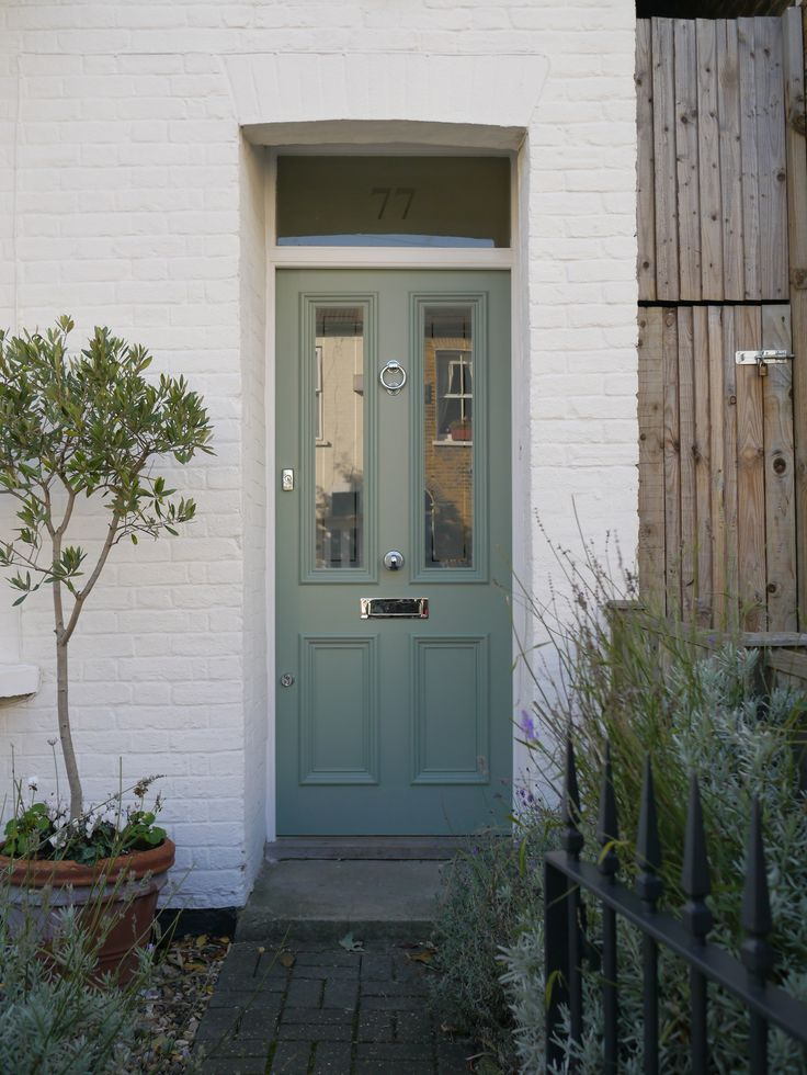 The London Door Company Balham, London - Farrow and Ball, Castle Grey