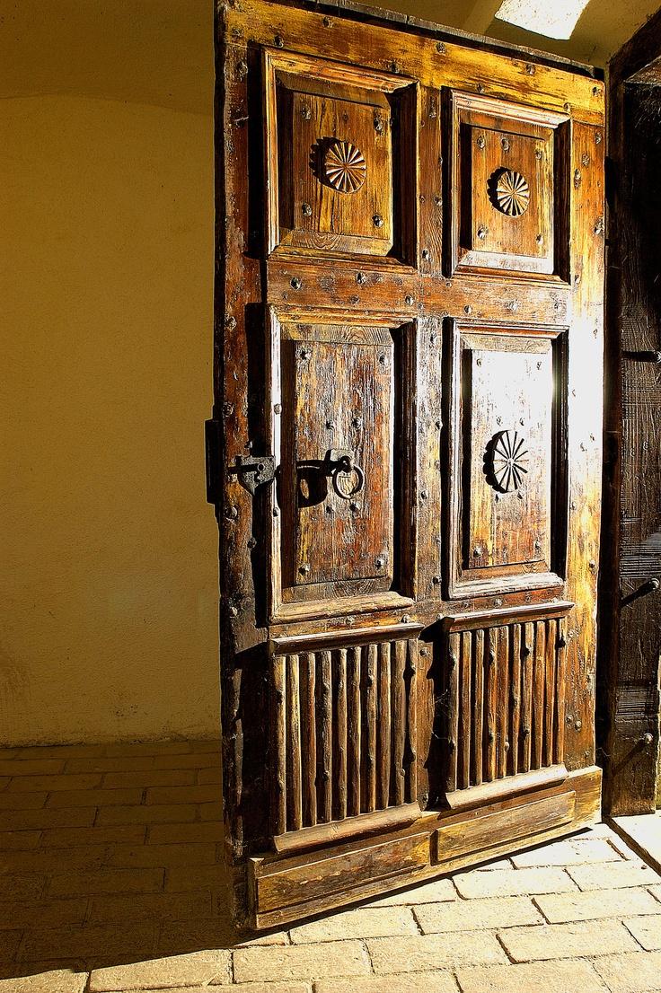 Door to the cellars - Grof Degenfeld Vineyard