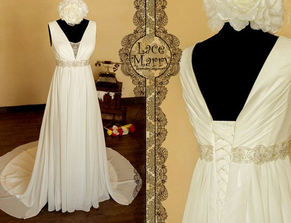 17 Best Ideas About Empire Style Wedding Dresses On