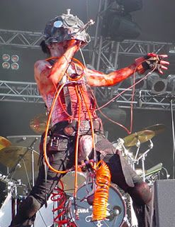 Skinny Puppy - Rodent [ Live In Mera Luna, Germany, August 2007 ]