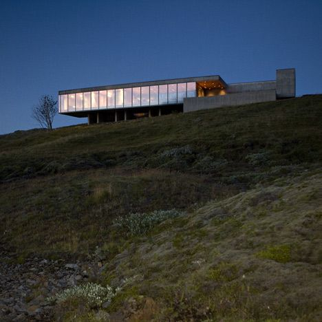 Best Icelandic Architecture Images On Pinterest Architecture - This architects stunning concept home hangs from a cliffside in iceland
