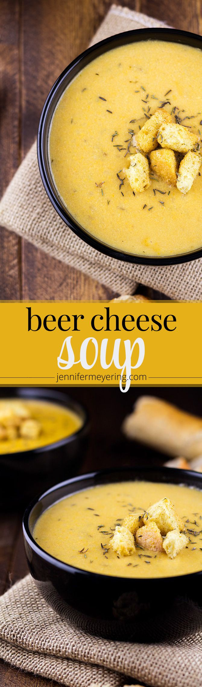 Beer Cheese Soup - JenniferMeyering.com