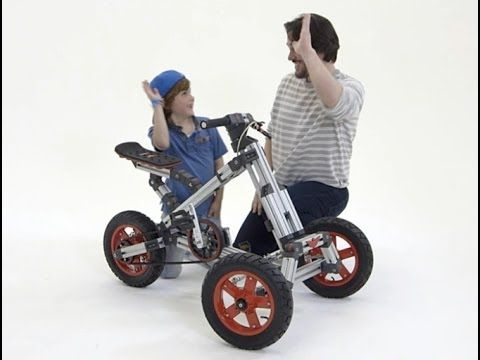 Infento World's First Real Constructible Rides - YouTube