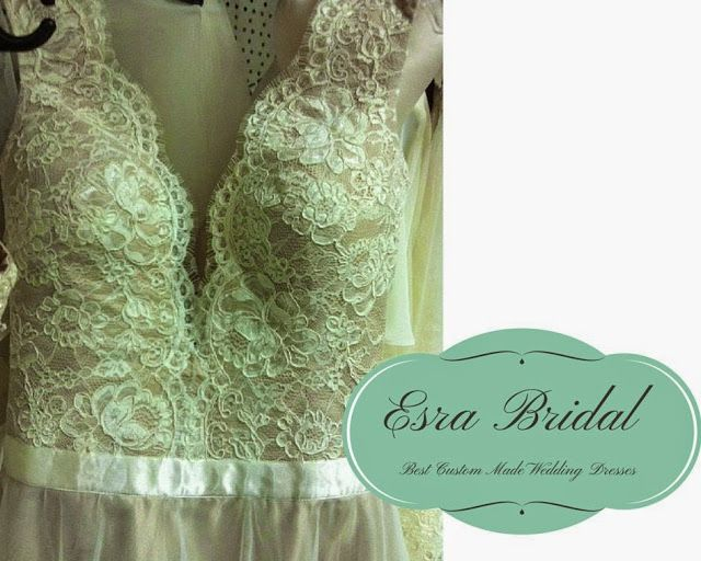 Details From Watters Santina Inspired Wedding Dress Built In Bra Custom Made For Brides