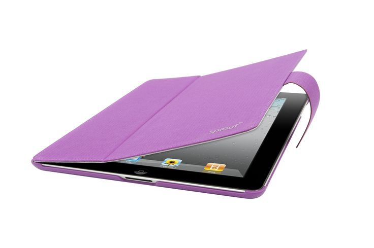 We have introduced a sleek fabric covered design for the iPad2/3/4 which has a built in stand. This unique casing comes in a classic black or a vibrant purple. Price: $50.00 #sprout #freedomtogrow #ipad #apple #case #cover #fabriccover #flexible #protection #device #techie #technology #electronics #sheek #geek