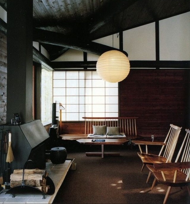 George Nakashima House Studio And Workshop New Hope Pensylvania