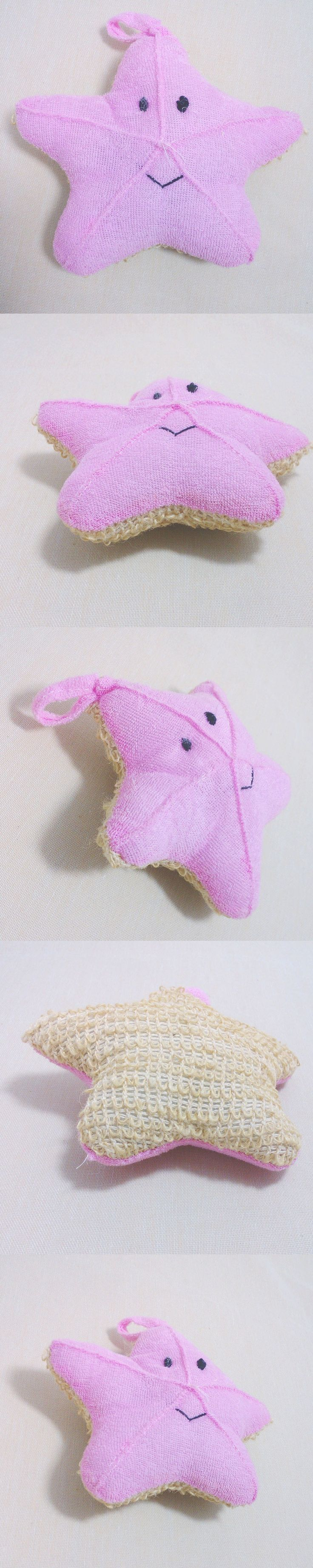 Cute Baby Bath Sponge Cartoon Starfish Super Soft Cotton Brush Rubbing Towel Ball New Bath Gloves H7JP