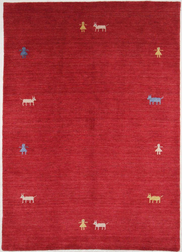 Gabbeh   Teppiche Handgeknüpft Alfombra 240 x 171 cm Rugs orient teppe