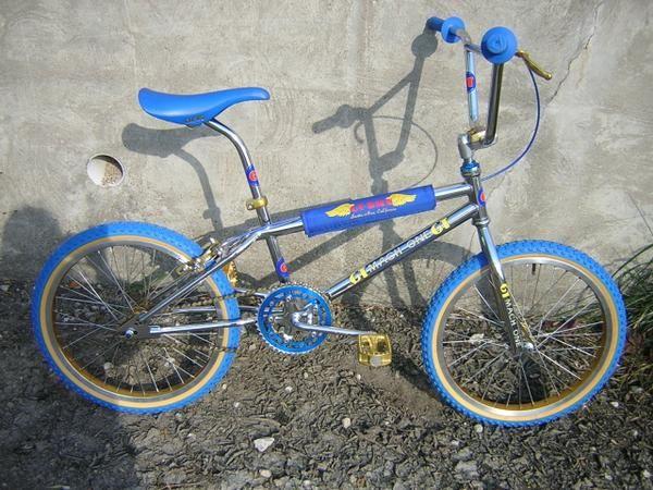 My childhood bike.  GT BMX Mach One.  Still have it too.