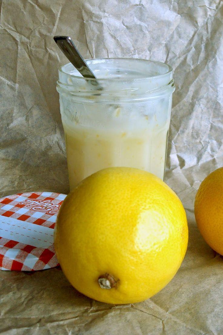 miejscy roślinożercy: Pyszny krem cytrynowy, czyli wegański lemon curd