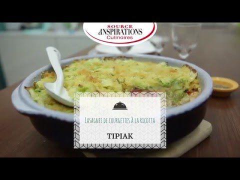 Recette Lasagnes de courgettes à la ricotta - TIPIAK - YouTube