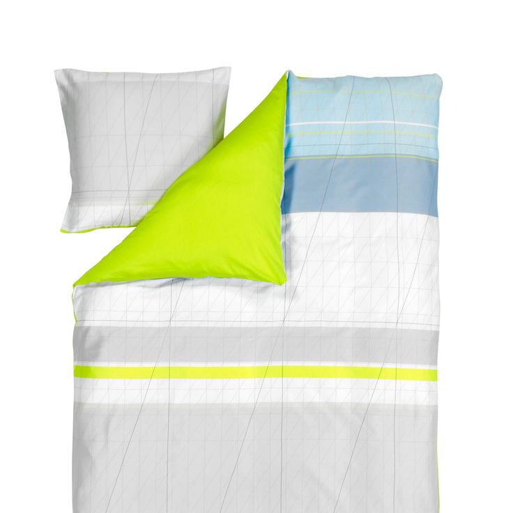 S&B Colour Block påslakanset, gul i gruppen Textil / Sängkläder / Påslakan hos RUM21.se (111559)