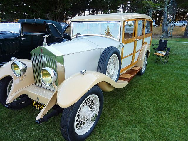 1929 Rolls Royce Shooting Brake...Brought to you by agents at #HouseofInsurance in #EugeneOregon for #LowCostInsurance.