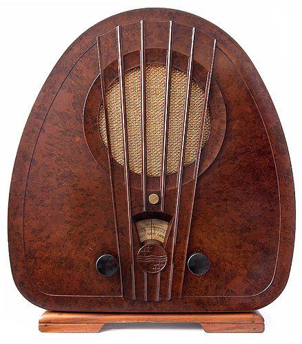 Philips radio model 834A, 1933 by galessa's plastics, via Flickr #radio