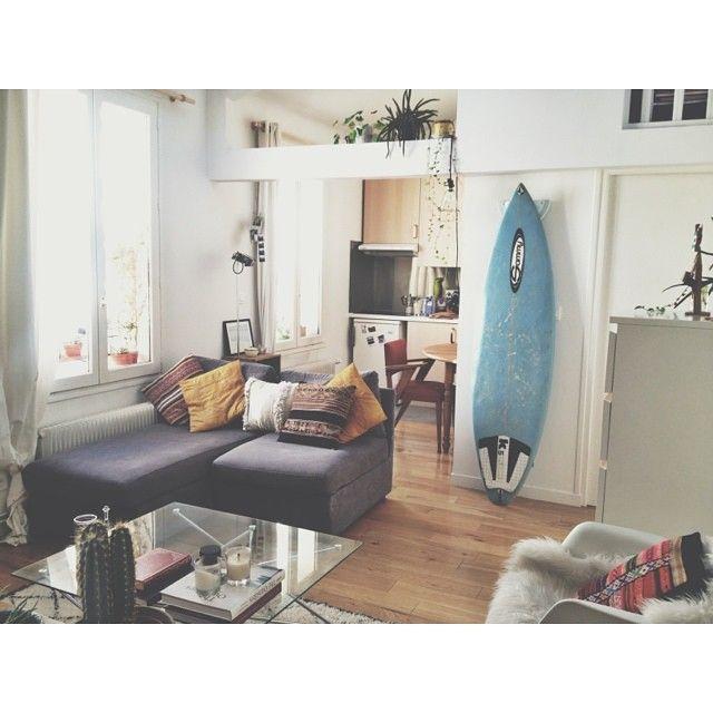 1000 id es propos de planches de surf sur pinterest - Appartement decoration design glamour vuong ...