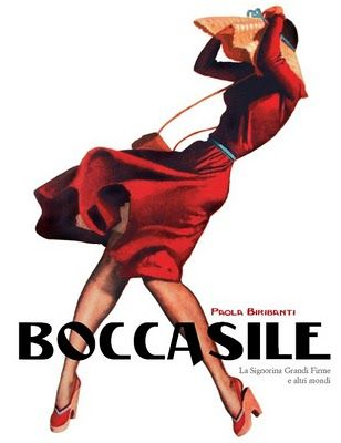 Boccasile  By Gino Boccasile (1950)  He produced posters and illustrated fashion magazines and gained fame for his sensual renderings of the female form.