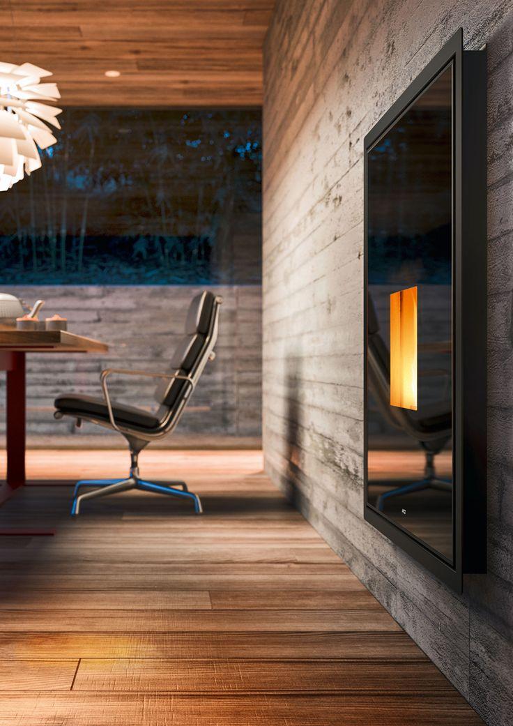 The 75 best stufa pellet design images on Pinterest | Fire places ...